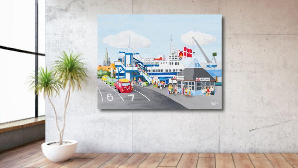 Frederikshavn mod Læsø Naivistisk