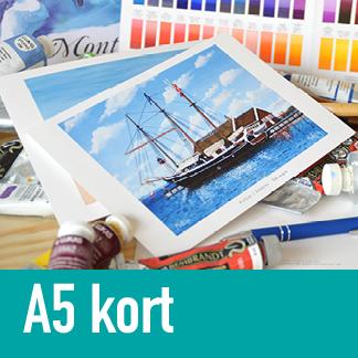 Kunstkort A5
